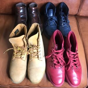 Four pair of boots (one price)